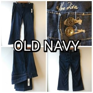 Old Navy Low Rise Stretch Diva Jeans NWT